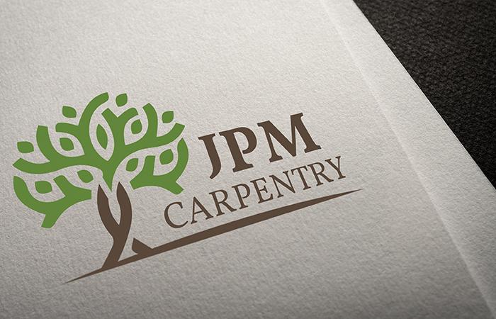 JPM Carpentry Logo Design
