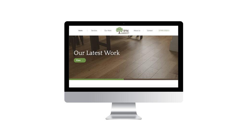 JPM Carpentry Website Design