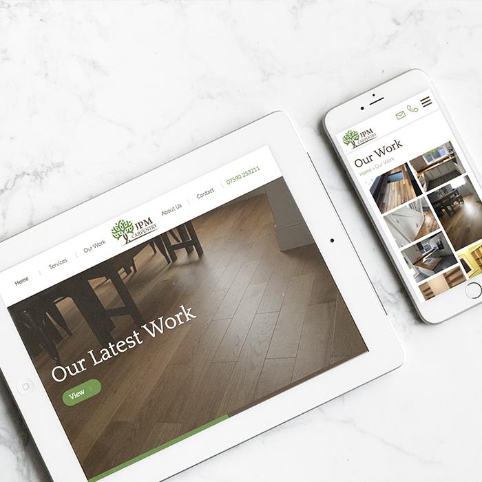 JPM Carpentry Website