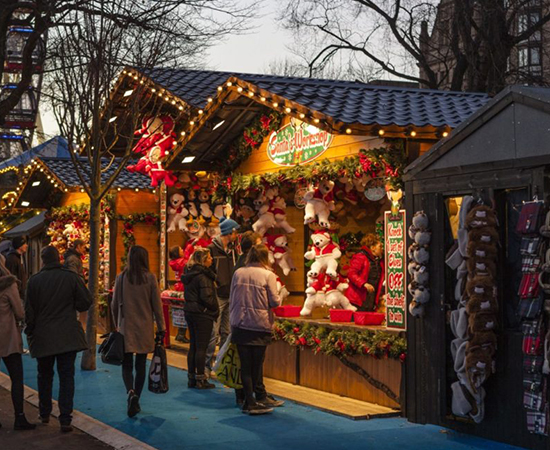 Christmas website design