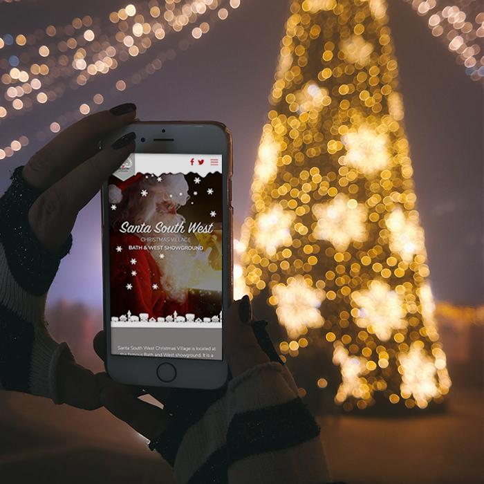 Santa South West Christmas Website