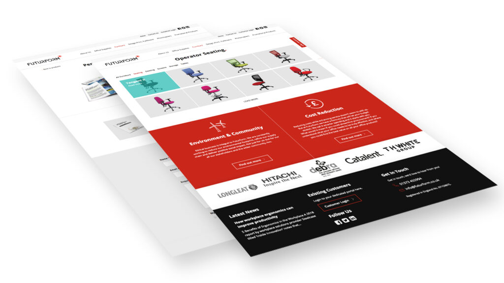 Futurform corporate website