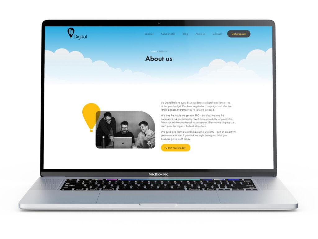 Up Digital WordPress build