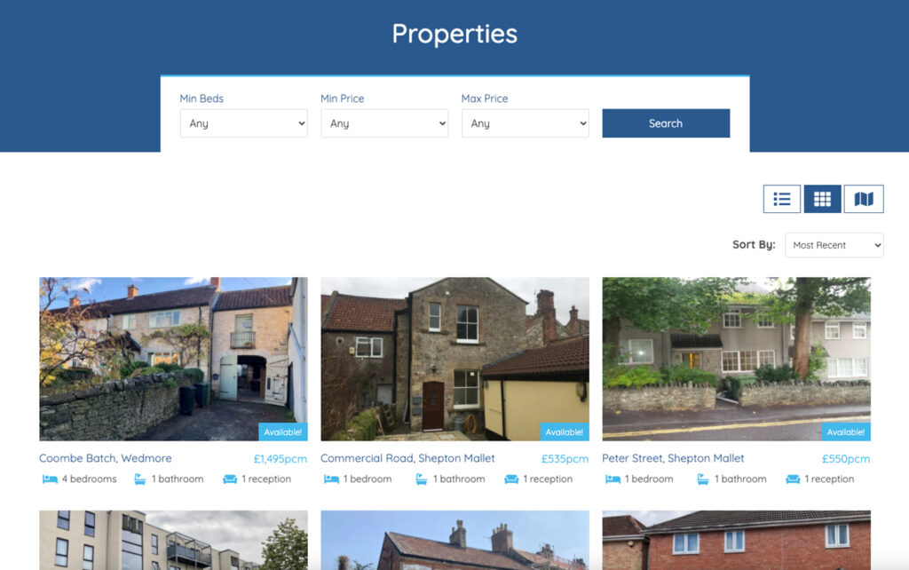 Stuarts Residential property website