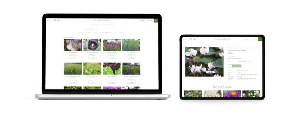 Arvensis Perennials WordPress Website