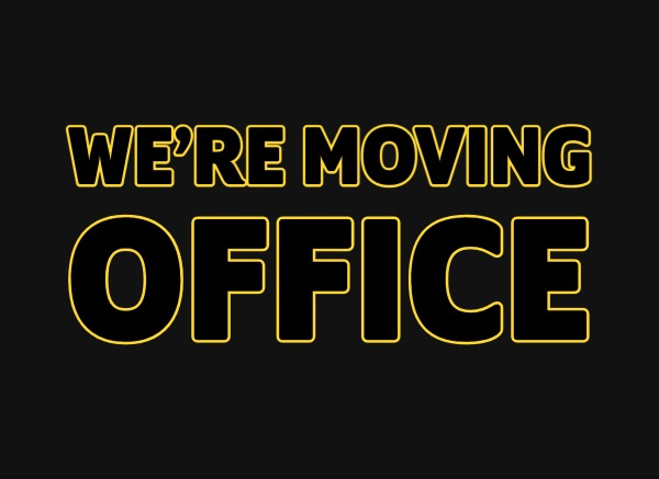 Yellow Peach are moving offices
